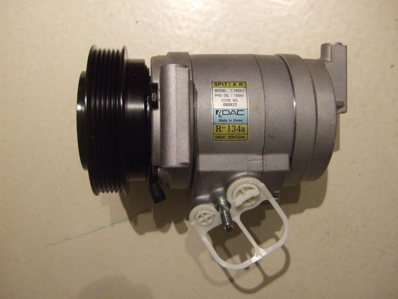 chevrolet captiva компрессор кондиционера 3.2